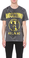 Moschino Sketched Logo Cotton-jersey T-shirt