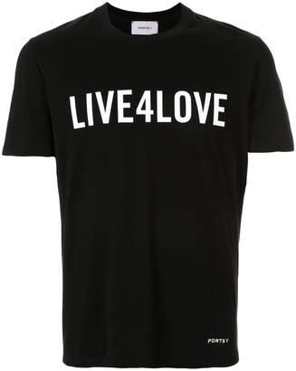 Ports V slogan T-shirt