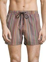 Paul Smith Multi-Color Striped Swim Shorts