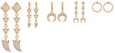 Ettika Moon Earring Set