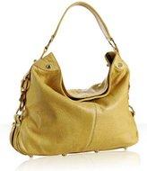 yellow pebble leather 'Mini Nikki' shoulder bag