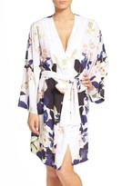 Plum Pretty Sugar Women's Elysian Floral Print Kimono Robe