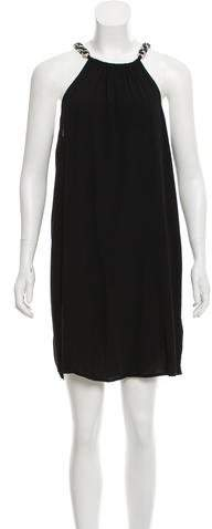 MICHAEL Michael Kors Halter Knee-Length Dress w/ Tags
