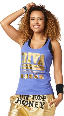 Zumba Fitness Zumba Graphic Print Dance Fitness Tank Tops Activewear Workout Tops for Women XXL
