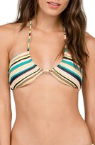 Volcom Women's Salty Air Bandeau Bikini Top