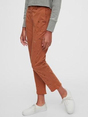 Gap Straight Leg Khakis