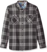 Quiksilver Waterman Men's Moon Tides Flannel Shirt