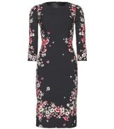 Dolce & Gabbana Floral-print crepe dress