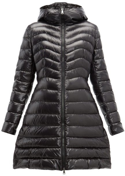 b86c93f6f Authie Quilted Down Coat - Womens - Black