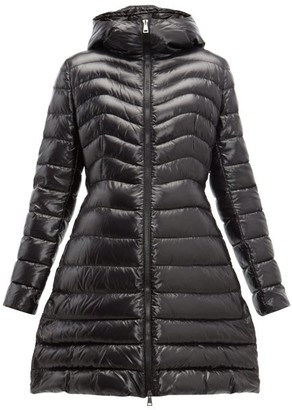 Moncler Authie Quilted-down Coat - Womens - Black