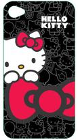 Hello Kitty iPhone 4 Compatible Polycarbonate Wrap - Black