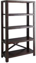 Pier 1 Imports Parsons Tobacco Brown Tall Shelf
