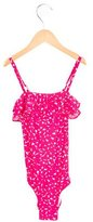 Little Marc Jacobs Girls' Printed Swim Suit w/ Tags