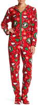 Hello Kitty Printed Fleece Jumpsuit