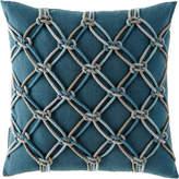 """Elaine Smith Lagoon Rope Pillow, 20""""Sq."""