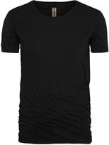 Rick Owens Black Layered Cotton T-shirt