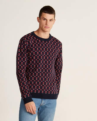 Le Mont St Michel Arrow Long Sleeve Sweater