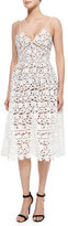 Self-Portrait Self Portrait Azalea Lace Dress, White