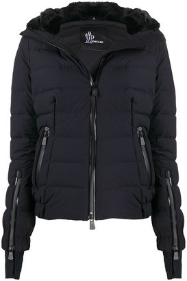 MONCLER GRENOBLE Embroidered Logo Puffer Jacket