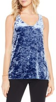 Vince Camuto Women's Crushed Velvet Knit Tank