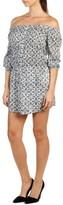 Paige Women's Clover Cotton Off The Shoulder Dress