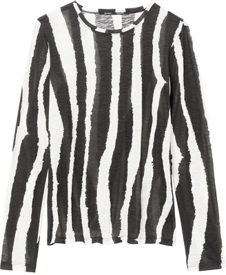 Proenza Schouler striped longsleeved T-shirt