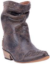 Dingo Black & Tan Weekender Leather Cowboy Boot - Women