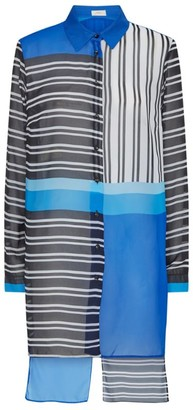 Gottex Stripe Shirt Tunic