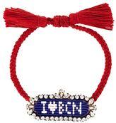 Shourouk 'I Love BCN' beaded bracelet