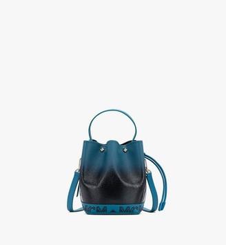 MCM Milano Drawstring Bag in Patent Leather Gradient