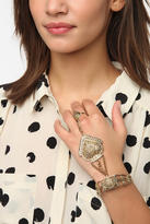 Urban Outfitters Temple Of Love Ring-To-Wrist Bracelet