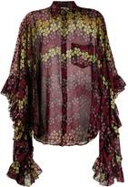 DSQUARED2 floral blouse