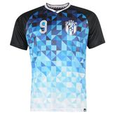 Fabric Football Geometric Tshirt Mens