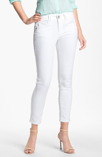 Nordstrom Wit & Wisdom Colored Denim Skinny Jeans Exclusive)