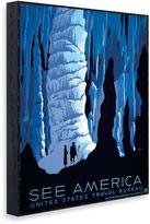 "Bed Bath & Beyond Vintage Travel ""See America"" Wall Art"