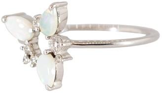 Fernando Jorge Opal and Diamond Electric Spark Ring