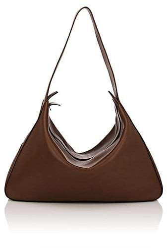 The Row Women's Saddle Leather Hobo Bag - Brown