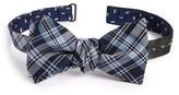 The Tie Bar Men's Mini Skull Reversible Silk Bow Tie