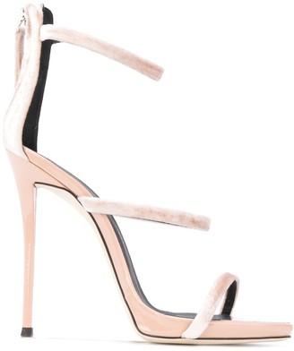 Giuseppe Zanotti Harmony velvet sandals