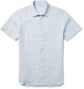 Orlebar Brown Meden Slub Linen Shirt