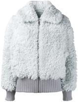 Vika Gazinskaya faux fur jacket