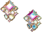 H&M Faceted Earrings - Silver-colored metallic - Ladies
