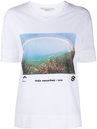 Stella McCartney rainbow print T-shirt
