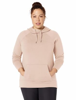 Core 10 Amazon Brand Women's Soft Cotton Modal French Terry Fleece Hoodie Sweatshirt