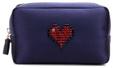 Anya Hindmarch Heart satin pouch