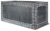 The Well Appointed House Cromwell Trough Garden Planter in Antique Faux Lead