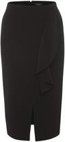 Oxford Rosa Ruffle Skirt Black X