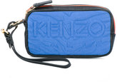 Kenzo Kombo clutch - women - Leather/Polyester/Spandex/Elastane/Rayon - One Size