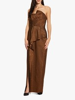Adrianna Papell Stretch Column Gown, Copper