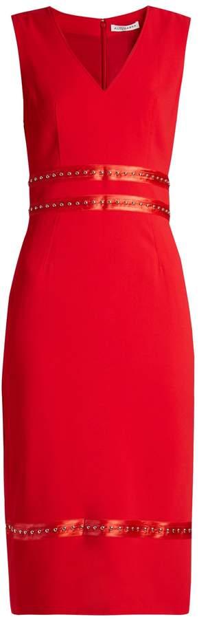 Altuzarra Burke stud-embellished crepe dress
